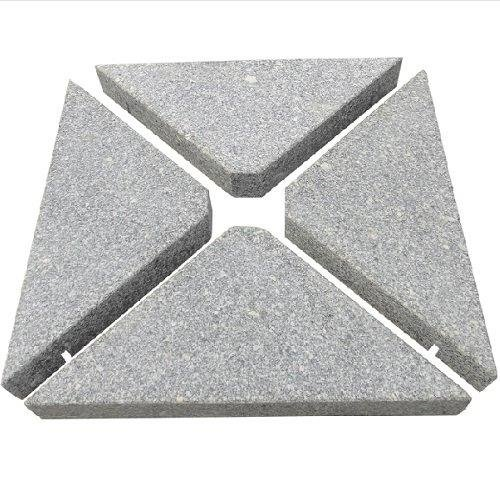 Chichester 3m Square Side Post Parasol - Grey - image 2