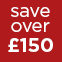 Red - Save over £150