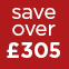 Red - Save over £305