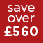 Red - Save over £560