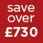 Red - save over £730
