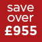 Red - Save over £955