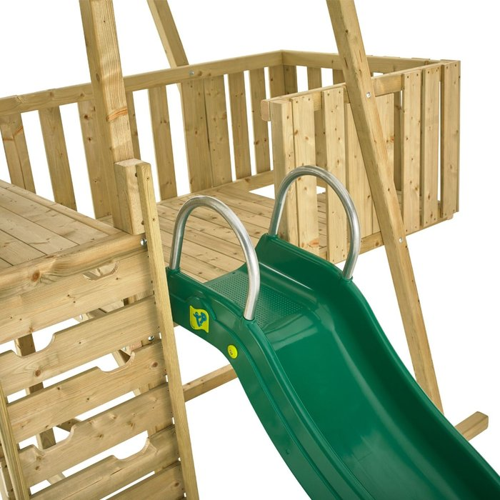 TP Kingswood Normandy Wooden Climbing Frame and Slide - image 4