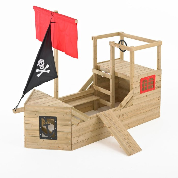 TP Pirate Galleon Wooden Playhouse - image 3